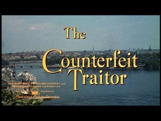 The counterfeit traitor movie title