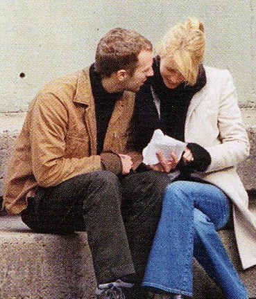 Chris Martin and Gwyneth Paltrow -One of the sweetest couples. Love them!
