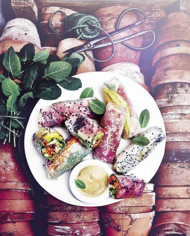 Rouleaux de printemps vegan pour 4 personnes - Recettes Elle à Table