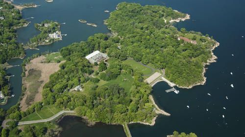 Ever dream of owning your own luxury home? How about your own island? Well this real estate transaction could be a record-breaking deal at list price of $175M.  http://www.ctpost.com/realestate/article/On-the-market-Darien-Conn-island-could-break-9227604.php