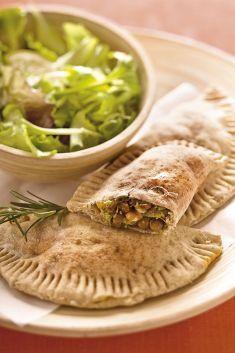 Panzerotti farciti con crema di lenticchie verdi, broccoletti e noci - Tutte le ricette dalla A alla Z - Cucina Naturale - Ricette, Menu, Diete