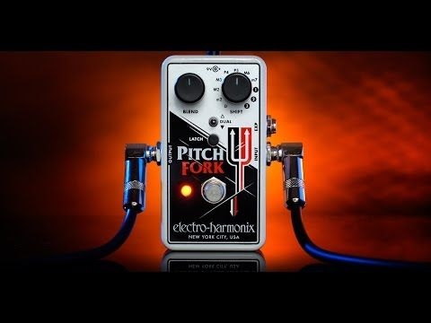 Electro-Harmonix EHX Pitch Fork Electric Guitar Polyphonic Pitch Shifter Pedal 2014 | Reverb