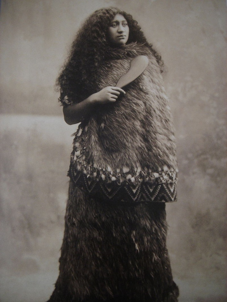 New Zealand, Maori Woman Vintage