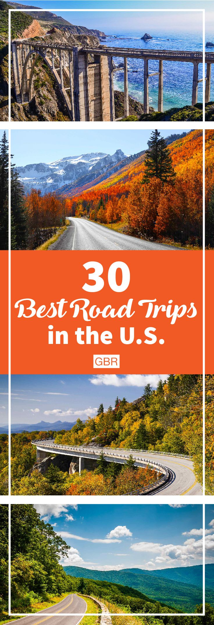Consider making your next vacation one of these awesome road trips within the U.S.