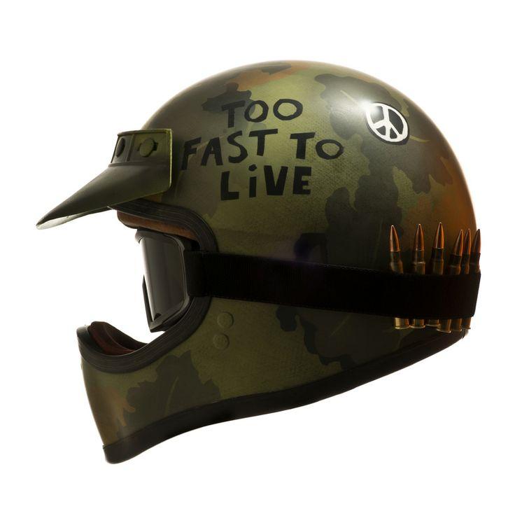 Cafe Racer Motorcycle Helmets Australia