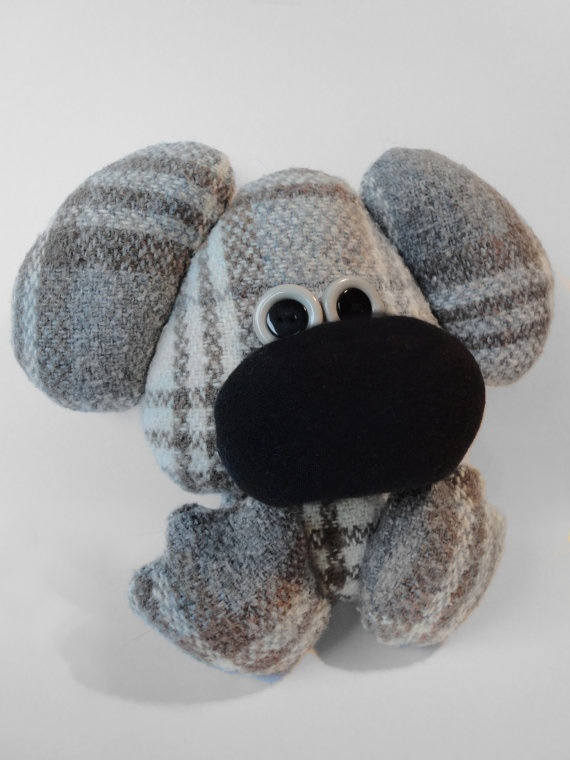 Plush Puppy by brokenbiscuits on Etsy