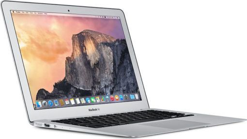 Apple MacBook Air 13-inch Laptop (Intel Core i5 1.6 GHz, 4 GB RAM, 128 GB SSD, Intel HD, OS X Yosemite) – Silver – 2015 – MJVE2B/A
