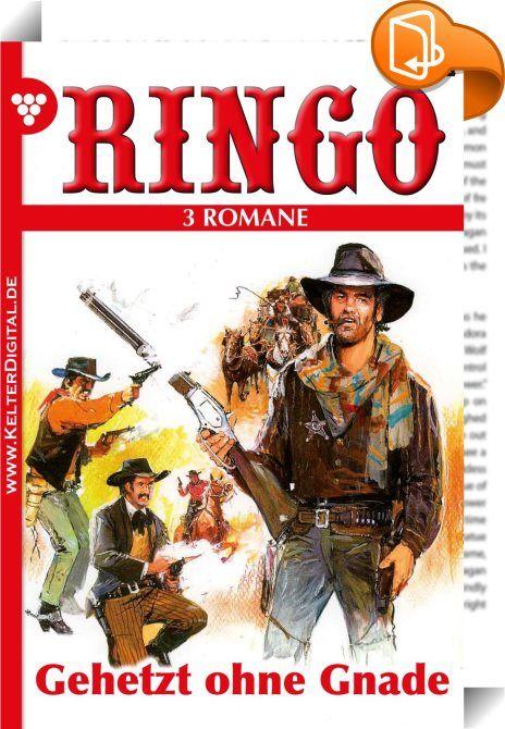 Ringo 3 Romane Nr. 20 - Western    :  Tauchen Sie ein in die aufregendePionierzeit Amerikas. Speziell für Sie ausgesuchte, hervorragend recherchierte Wild West Romane, rau und doch voller Emotionen, geprägt vonden Helden ihrer Zeit.   Als sich die stählernen Ringe um Slim Runovers Handgelenke schlossen, wusste der junge Cowboy, dass er am Ende seiner ruhelosen Fährte angelangt war. Es gab für ihn keine Hoffnung mehr, keinen Ausweg. Gnadenlos war er lange Zeit gejagt worden. Von Bandi...