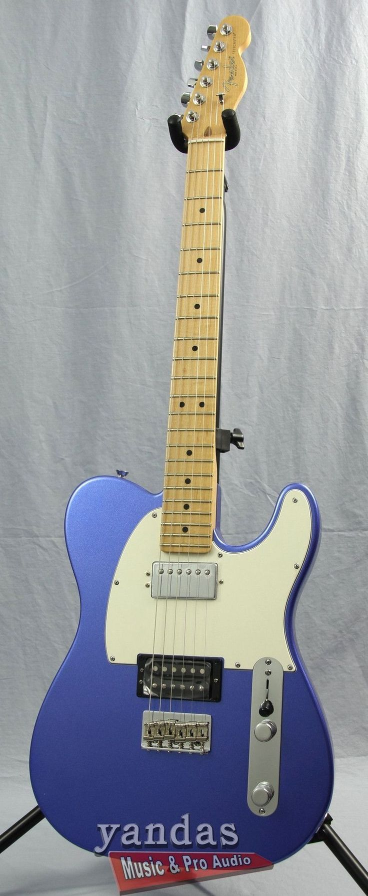 Fender American Standard Telecaster Electric Guitar The Fender Telecaster has been the go-to guitar for players in all genres of music for decades and now it's upgraded with a comfortable new body con