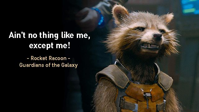 Guardians of the Galaxy Quotes by Rocket Raccoon Facebook Cover http://freefacebookcovers.net