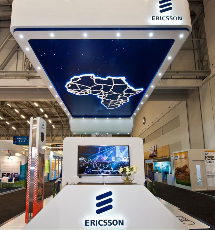Exhibition Stand Design Cape Town : Ericsson exhibition stand at africacom on behance