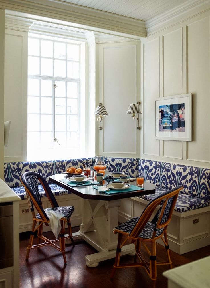 Ikat Banquette, By Ashley Whittaker  The Glam Pad