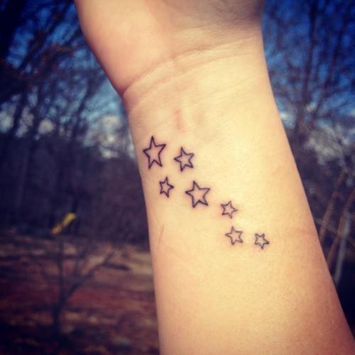 71 Attractive Stars Wrist Tattoos Design: 17 Best Ideas About Star Wrist Tattoos On Pinterest