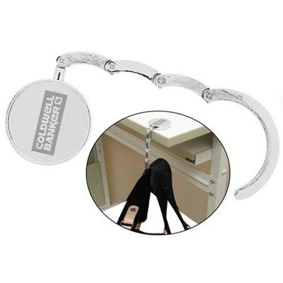 The Porta Borsetta Custom Handbag Holder Min 100 - Express Promo Products - Keyrings - HCL-A72401 - Best Value Promotional items including Promotional Merchandise, Printed T shirts, Promotional Mugs, Promotional Clothing and Corporate Gifts from PROMOSXCHAGE - Melbourne, Sydney, Brisbane - Call 1800 PROMOS (776 667)