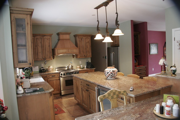 Alder cabinets, Cabinets and Kitchen cabinets on Pinterest
