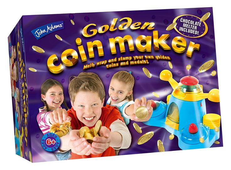 John Adams Golden Coin Maker