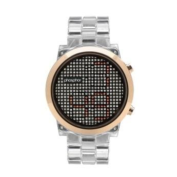 Reloj Transparente: Reloj Phosphor Appear Policarbonato Transparente   Phosphor Appear  http://www.tutunca.es/reloj-dorado-phosphor-appear-policarbonato-blanco