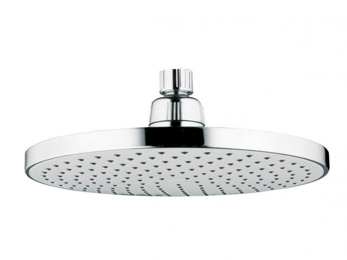 Posh Domaine 220 Round Overhead Shower Product Code - 9503540  is not only a practical and functional shower head, but also features contemporary design for the modern family bathroom space.