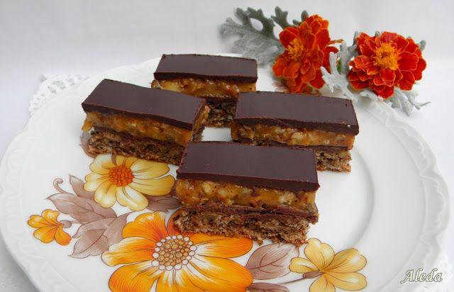Aleda konyhája: Snickers sütemény