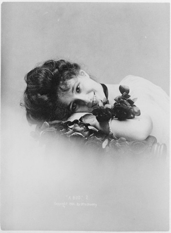 Evelyn Nesbit Thaw - Photograph by Sarony