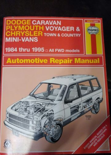 Haynes repair manual 1984 1995 dodge caravan plymouth chrysler 30010 haynes repair manual 1984 1995 dodge caravan plymouth chrysler 30010 fandeluxe Choice Image