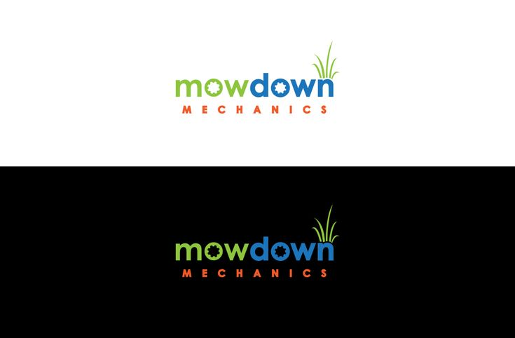 Logo for commercial lawn equipment mechanic Bold, Masculine Logo Design by GLDesigns