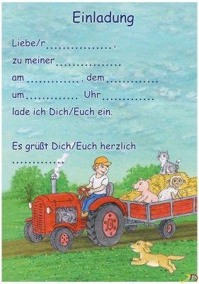 Kindergeburtstag Einladungen Zum Ausdrucken Bauernhof   Google Search |  Einladungskarten | Pinterest | Ausdrucken, Einladungen Und Google
