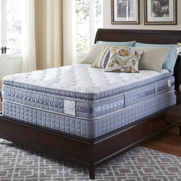 Serta Perfect Sleeper Resolution Super Pillowtop King Size Mattress Set Ping
