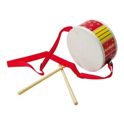 Bigjigs Toys Bubienok červený s paličkama