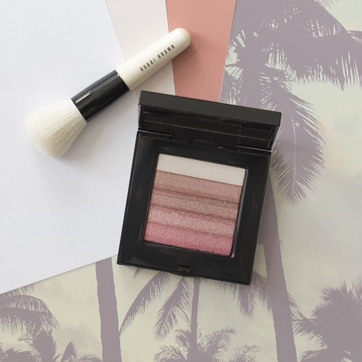 Bobbi Brown Shimmer Brick blush in Rose: Swatches and review via Disco me to Oblivion, baby!