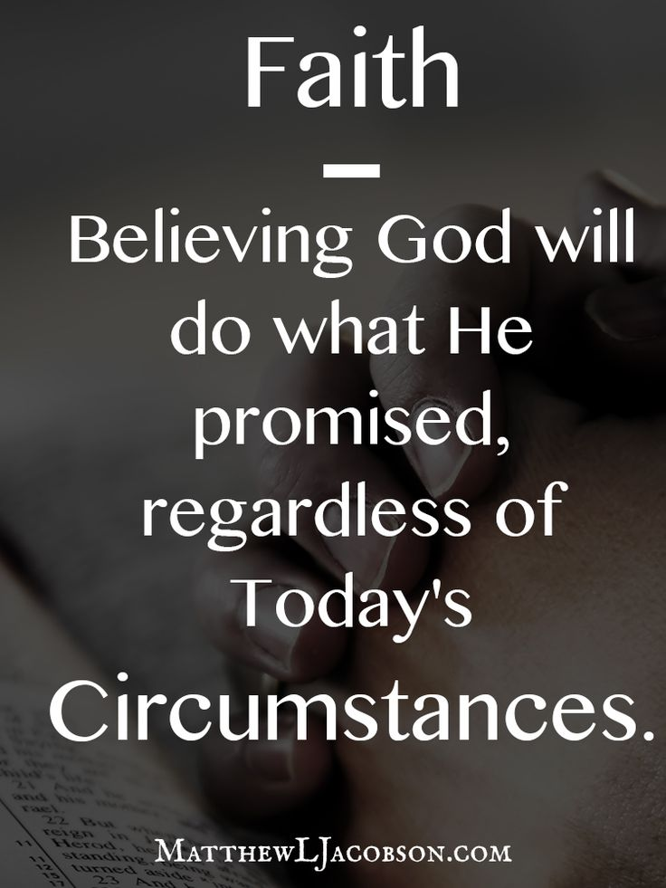 Keep on believing. Never doubt, He'll bring You out!