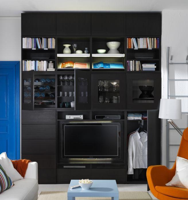 Tv Media Storage Unit Part - 41: What Canu0027t A BESTÅ Media Storage Unit Do? Pick Your Colour And Customize