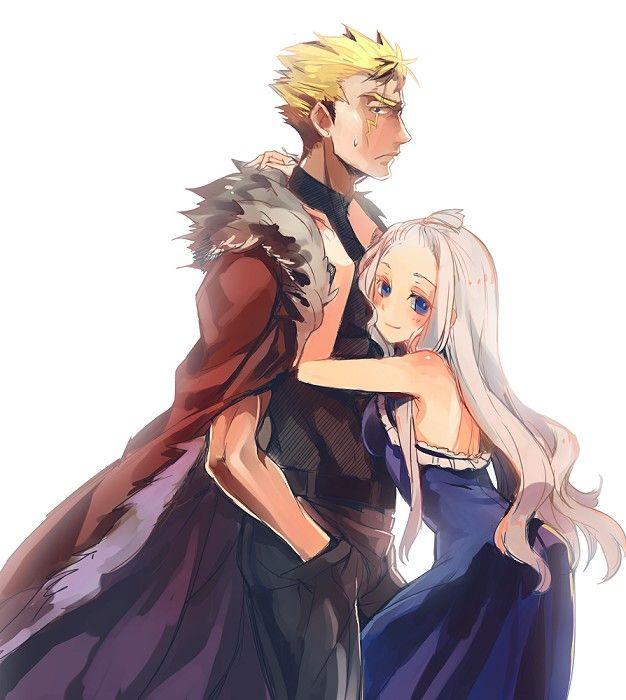 Fairy Tail. Laxus and Mirajane (Miraxus).