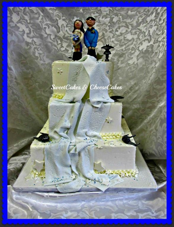 star trek wedding cakes 17 best images about wedding anniversary cakes on 20501