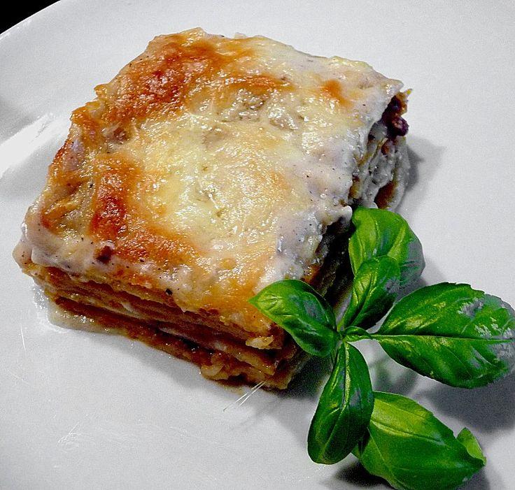 Béchamel-Hackfleisch-Lasagne, ein tolles Rezept aus der Kategorie Pasta & Nudel. Bewertungen: 833. Durchschnitt: Ø 4,5.