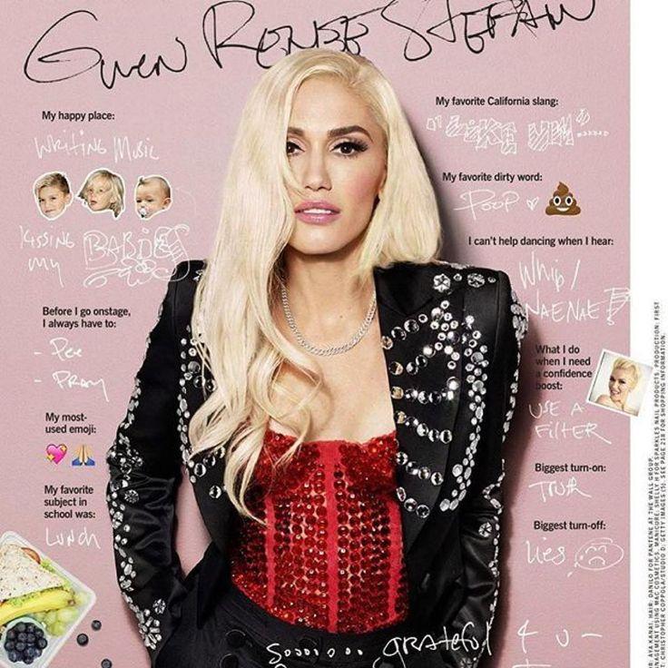 Moschino @gwenstefani Gwen Stefani for Cosmopolitan Magazine @cosmopolitan…