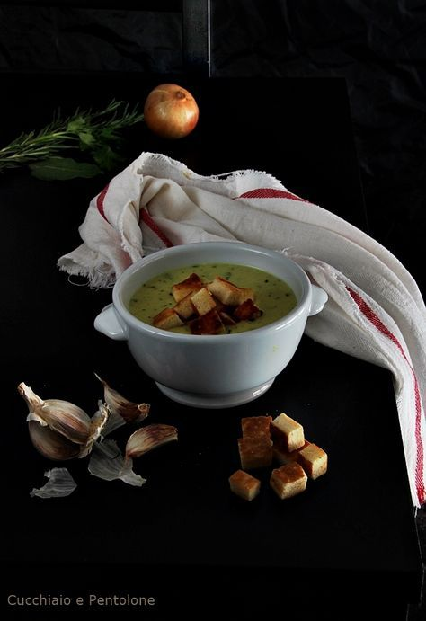 Zuppa all'aglio di Dauliana