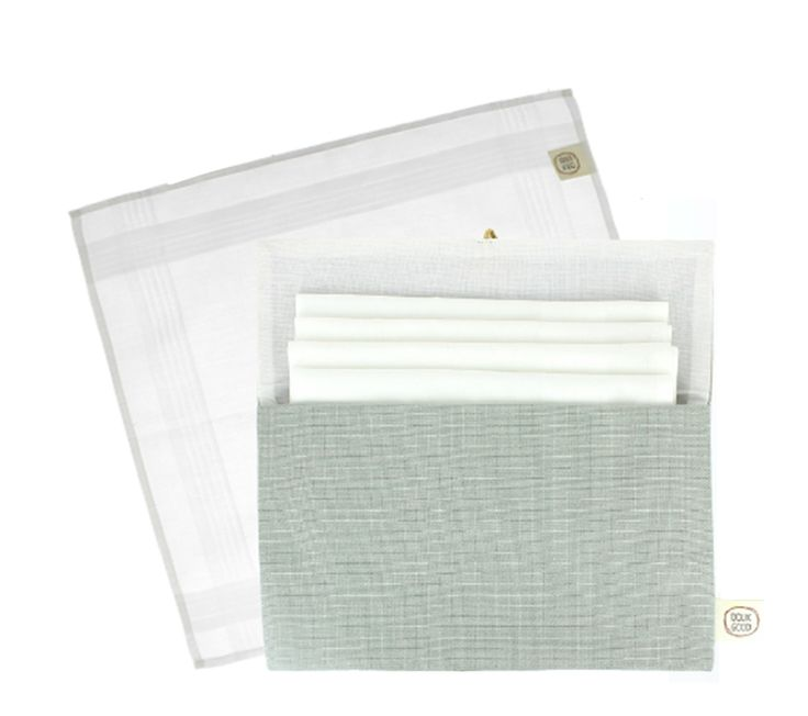 Collection Doux Good - mouchoirs en coton bio