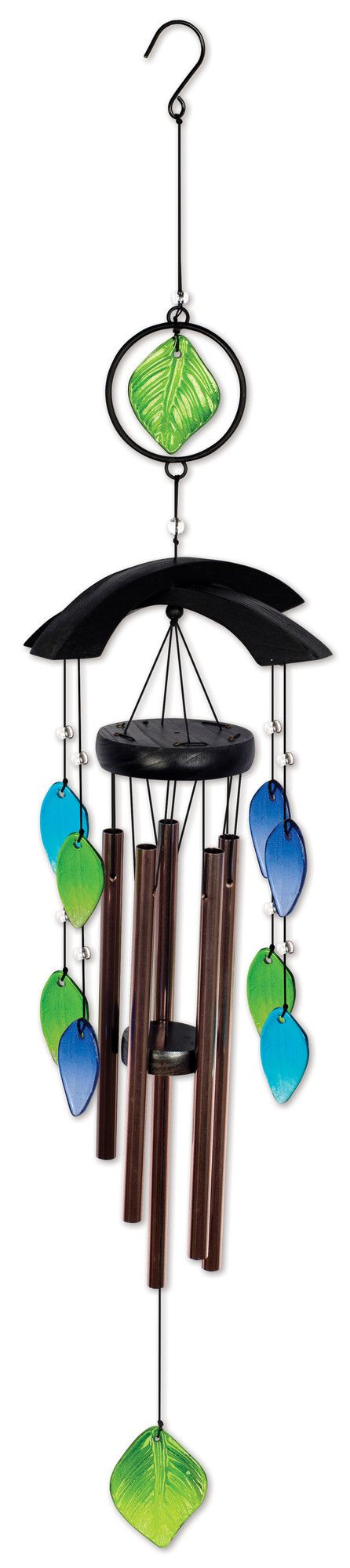 Asian Glass Wind Chime