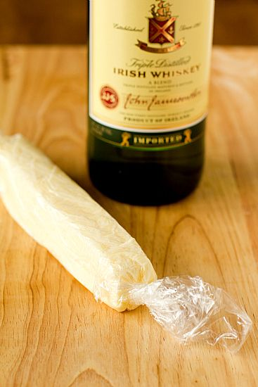 Jameson Whiskey infused butter!