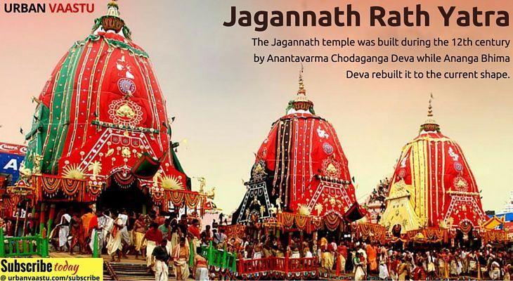 Religious significance Jagannath Rath Yatra #JagannathRathYatra #UrbanVaastu