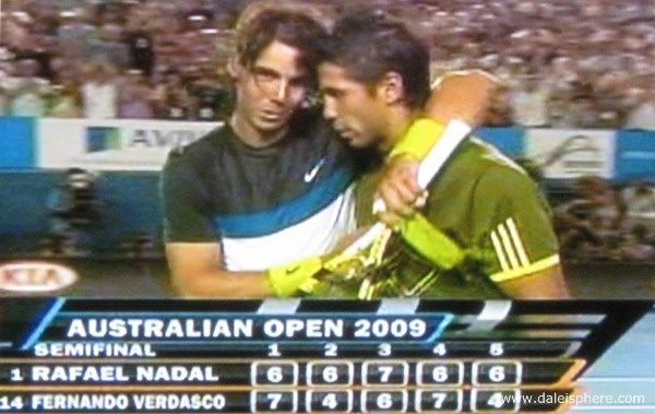 Nadal Vs Verdasco Australian Open Semi Finals!