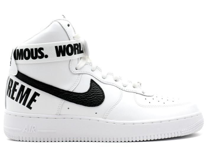 Get Nice Cheap Nike Air Force 1 High White Sneakers with Shipping By DHL