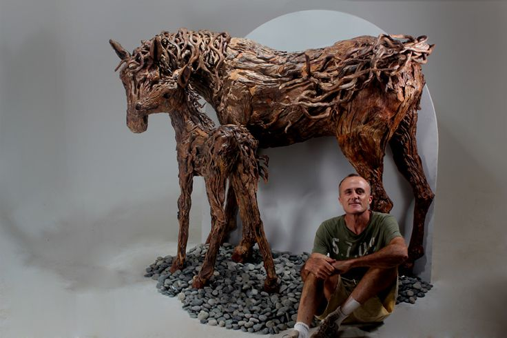 James doran webb artiste animalier sculptures bois for Artiste animalier