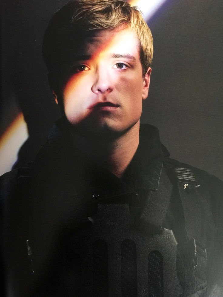 Still image of Josh Hutcherson as Peeta Mellark in #TheHungerGames #MockingjayPart2 featured in Tim Palen's book 'Photographs From The Hunger Games'