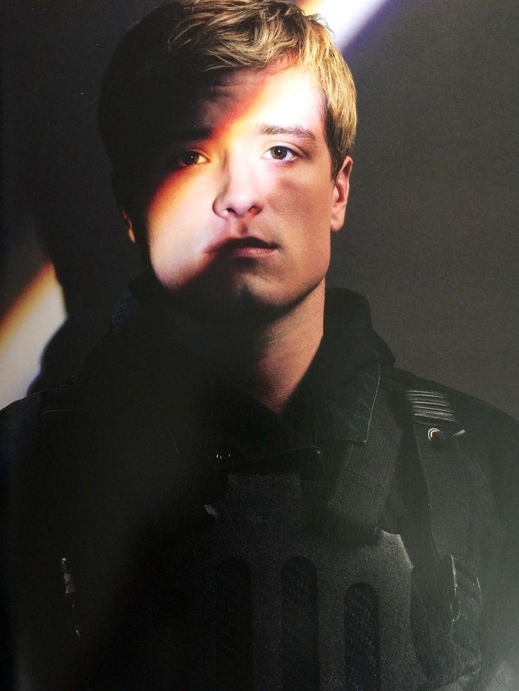 Still image of Josh Hutcherson as Peeta Mellark in # ...