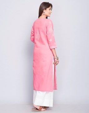 Long Kurtis- Buy Women's Ethnic Long Kurtis Online - Fabindia.com