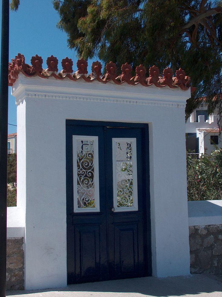 Door - Spetses, Greece