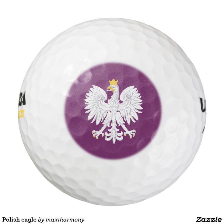 Polish eagle pack of golf balls