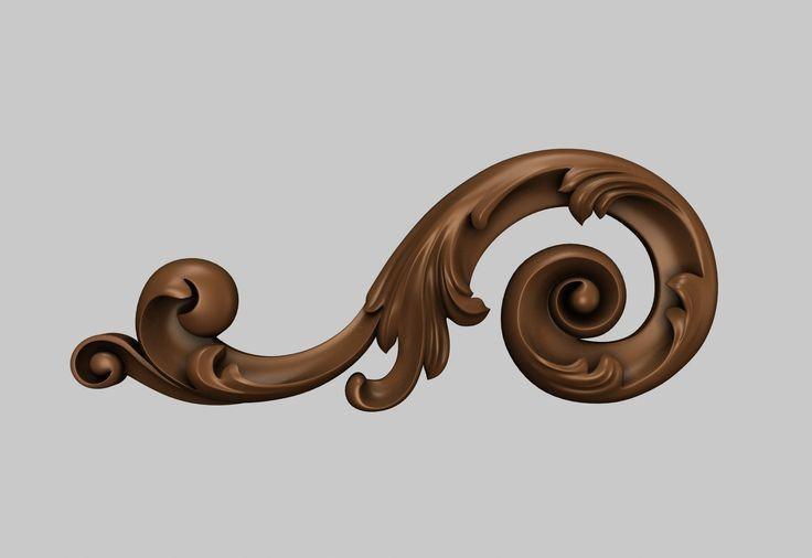 Декор 3D-модели для ЧПУ / 3D-models for CNC / stlforcnc@yandex.ru